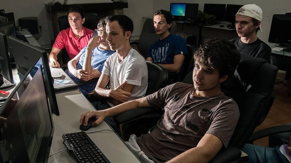 Centro de treinamento profissional de pôquer, em Cabreúva, São Paulo
