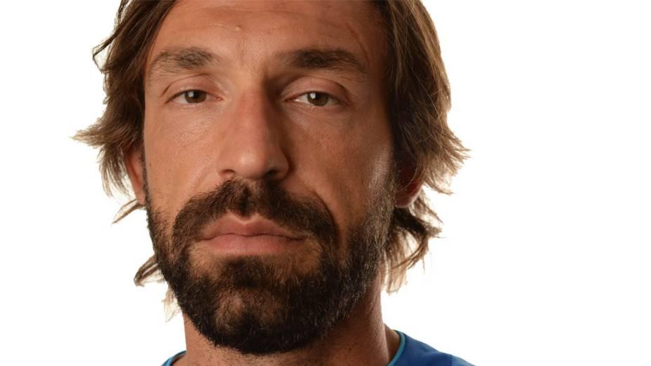 Andrea Pirlo, meia da Seleção da Itália