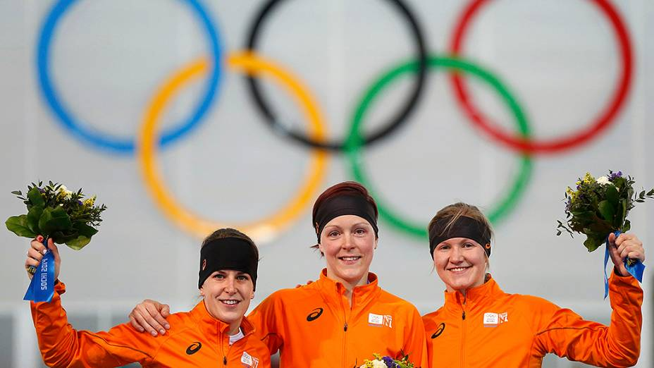 Holanda levou ouro, prata e bronze na prova feminina de 1.500m