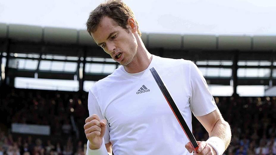 Andy Murray: esperança britânica para levar o título na grama de Londres