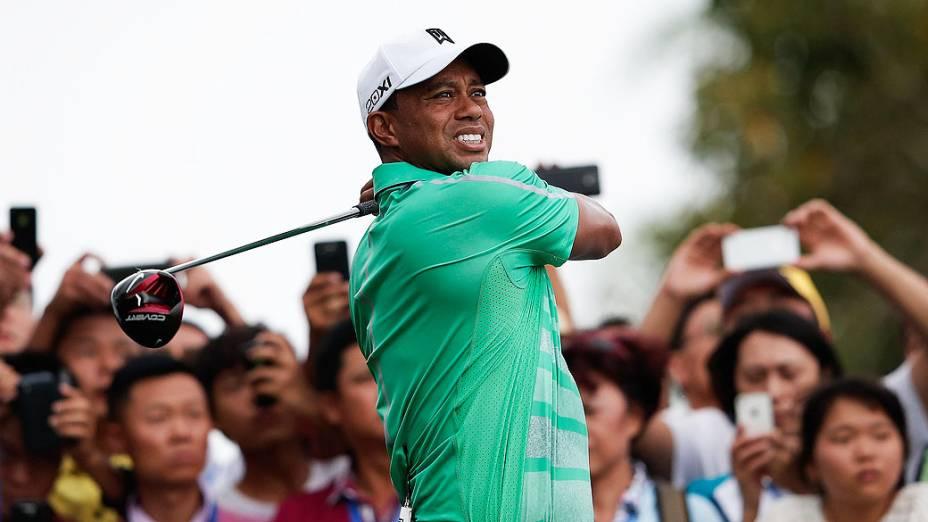 O golfista americano Tiger Woods