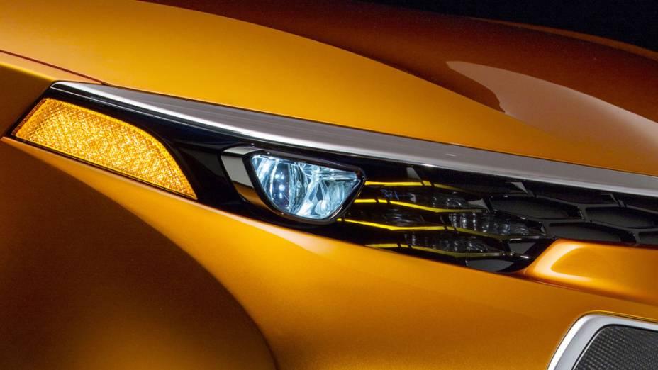 Detalhe do carro conceito Corolla Furia, apresentado no Salão de Detroit