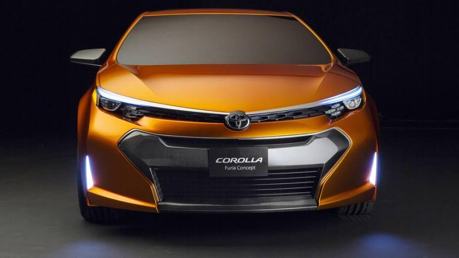 A nova geração do Corolla é baseada no carro conceito Corolla Furia