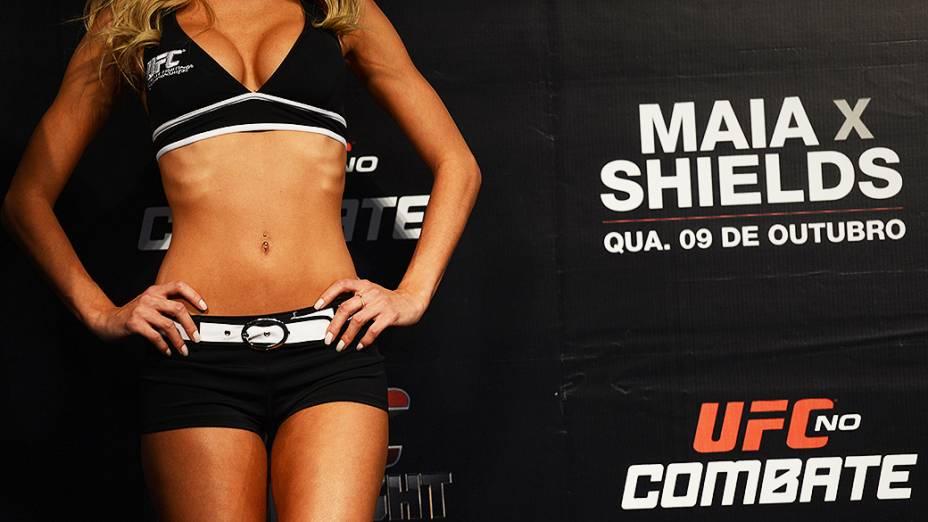 A pesagem do UFC em Barueri