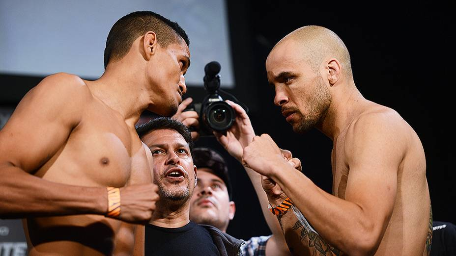 A pesagem do UFC em Barueri: Ildemar Marajó x Igor Araujo