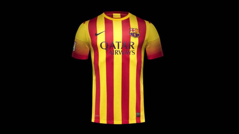 Nike apresenta novos uniformes do Barcelona