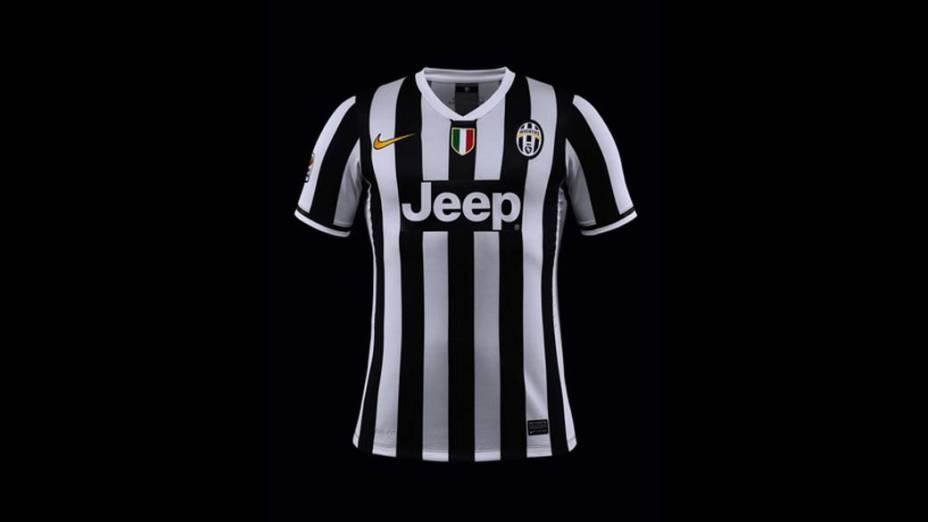 Nike apresenta novos uniformes da Juventus