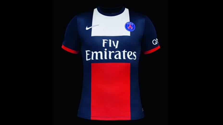 Nike apresenta novo uniforme do Paris Saint-Germain