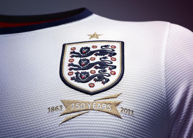 Nike apresenta novo uniforme da seleção da Inglaterra