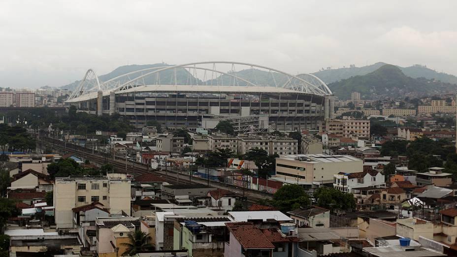 Estádio do Engenhão é interditado por problemas estruturais