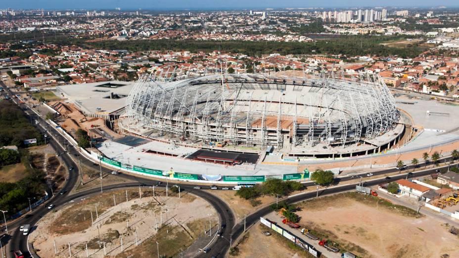 Arena Castelão em Fortaleza, setembro de 2012