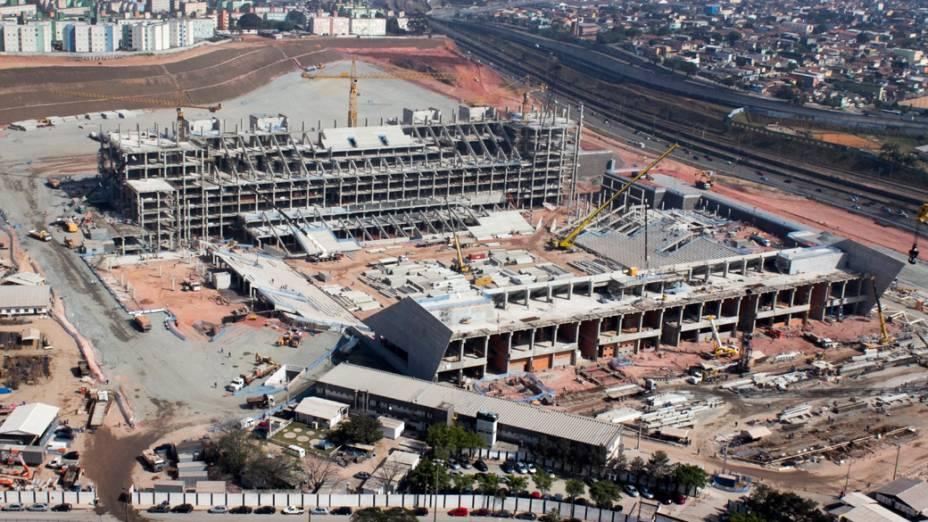 Arena Corinthians em São Paulo, setembro de 2012
