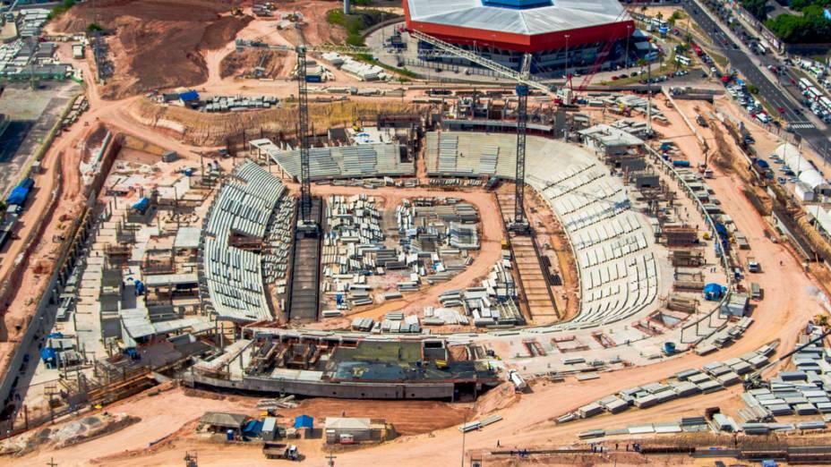 Arena Amazônia em Manaus, setembro de 2012