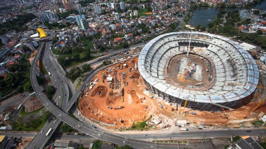 Arena Fonte Nova em Salvador, setembro de 2012