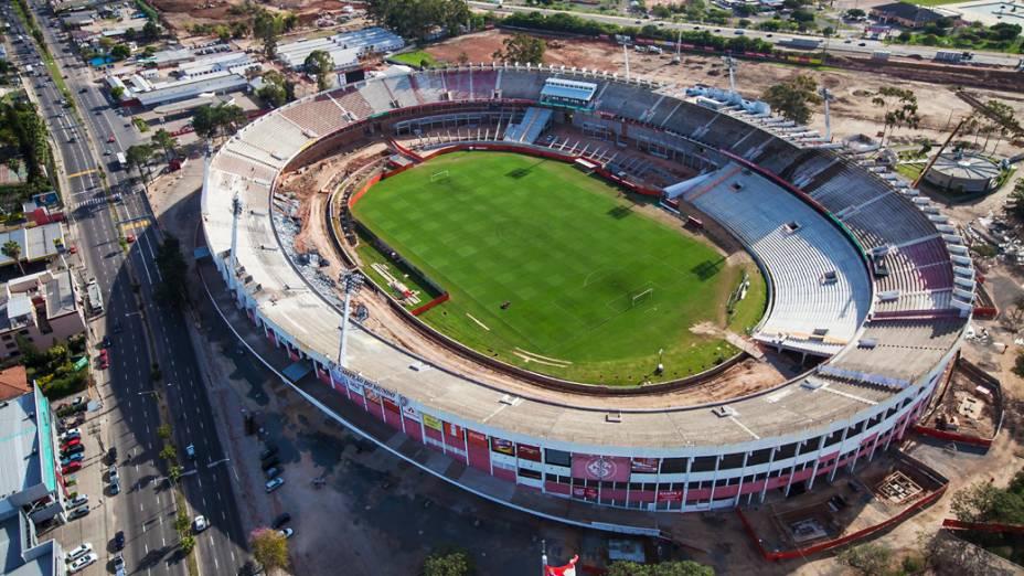 Estádio Beira Rio em Porto Alegre, setembro de 2012