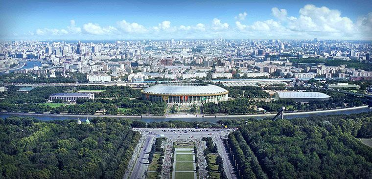 Estádios da Copa do Mundo de 2018, na Rússia: Luzhniki, em Moscou