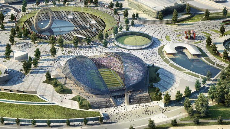 Estádios da Copa do Mundo de 2018, na Rússia: o Estádio Olímpico, em Sochi
