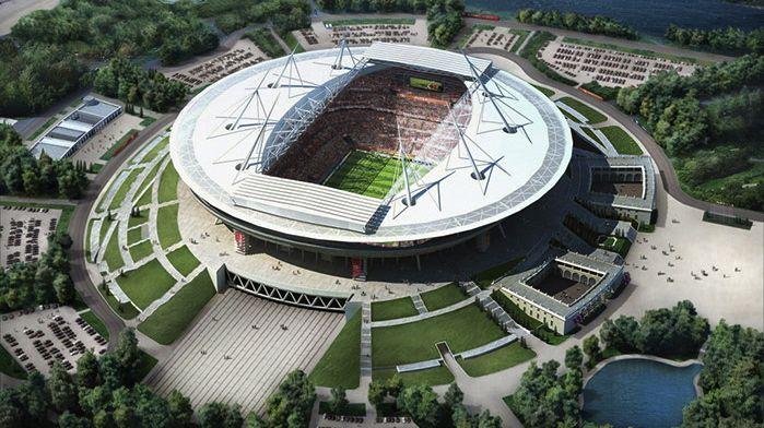 Estádios da Copa do Mundo de 2018, na Rússia: a nova arena de São Petersburgo