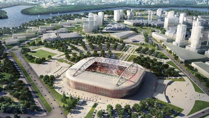Estádios da Copa do Mundo de 2018, na Rússia: a nova arena do Spartak, em Moscou