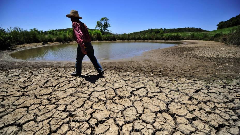 Estiagem no Rio Grande do Sul que já levou diversos municípios a entrarem em estado de emergência