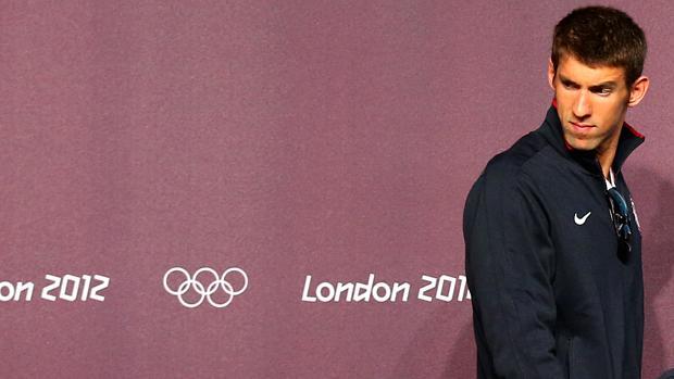 """Estou mais tranquilo, vamos nos divertir"", disse Michael Phelps"