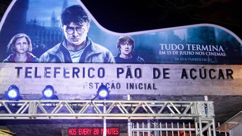 Pré-estreia de Harry Potter e as Relíquias da Morte - Parte 2, no Morro da Urca, Rio de Janeiro