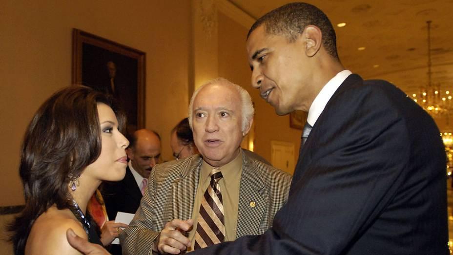 Eva Longoria e Barack Obama