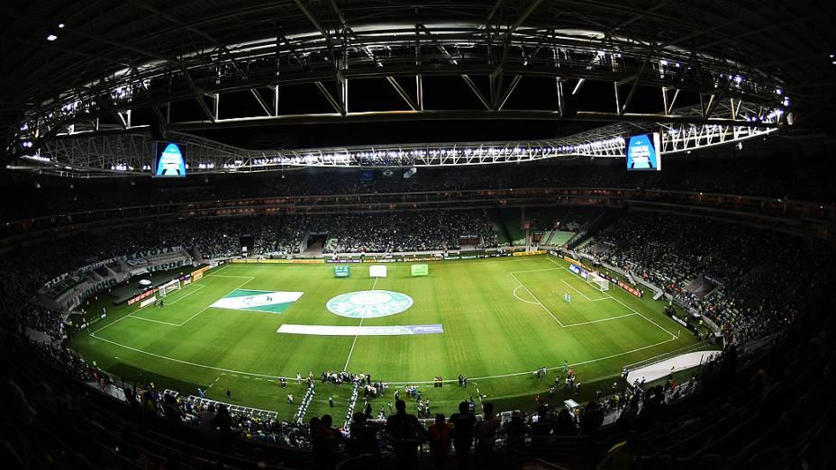 Palmeiras e Sport na estreia da Arena Palmeiras pela 35ª rodada do Campeonato Brasileiro