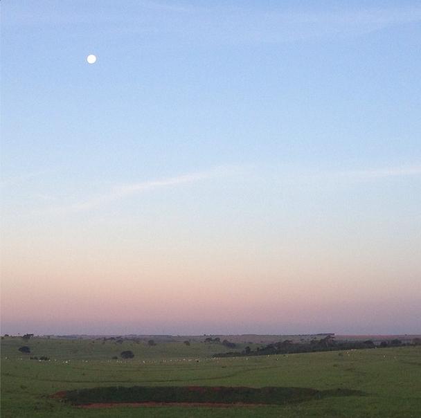 Expedição VEJA pelo Brasil - A lua do pontal do Paranapanema