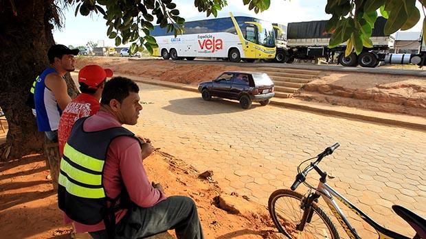 Expedição Veja na cidade de Correntina na divisa da Bahia com Goiás