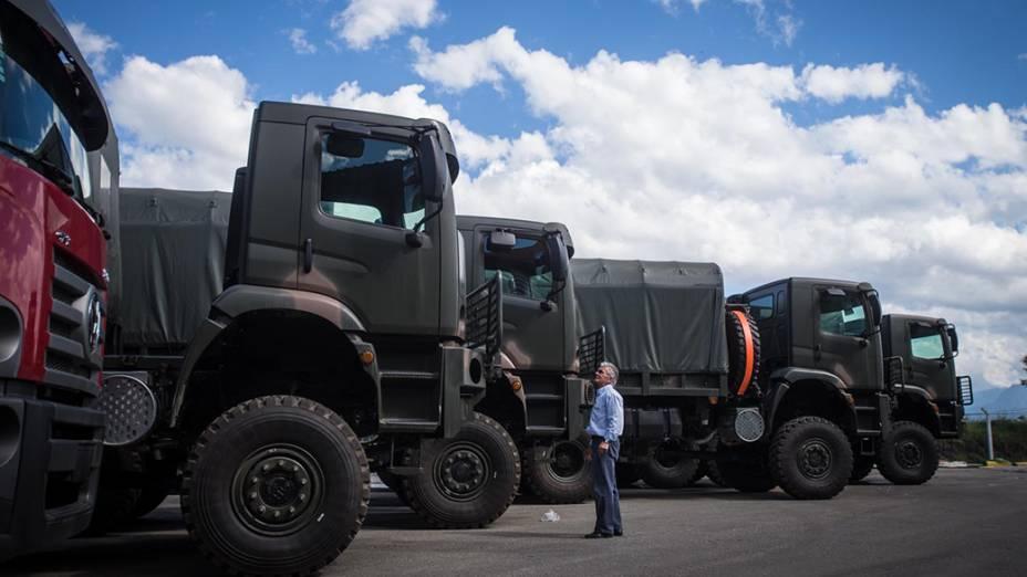 Montadora de caminhões BMB, em Porto Real (RJ)