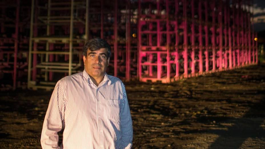 Gilberto Moreira, da empresa AGM na cidade de Porto Real