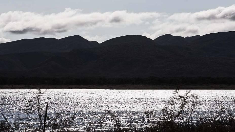 Expedição Veja pelo Brasil - Na foto cenas da barragem do Bico da Pedra na cidade de Janaúba em MG. A Expedição segue para a cidade de Sete Lagoas MG