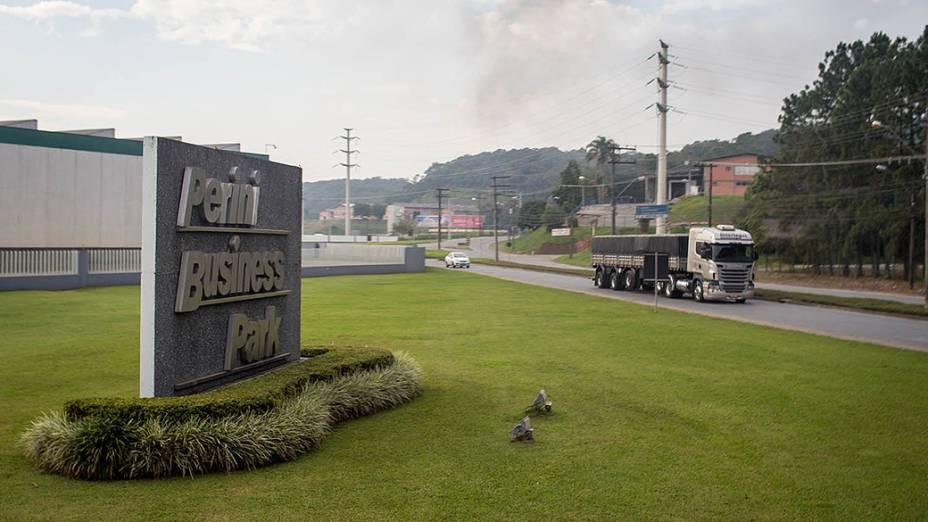 Expedição Veja pelo Brasil chega na cidade de Joinville. Na foto o centro industrial Perini Business Park