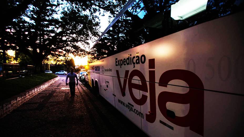 Expedição Veja pelo Brasil. Na foto cenas da cidade de Não Me Toque no Rio Grande do Sul