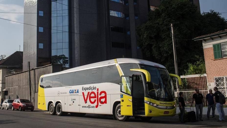 Expedição VEJA pelo Brasil chega na cidade de Joinville