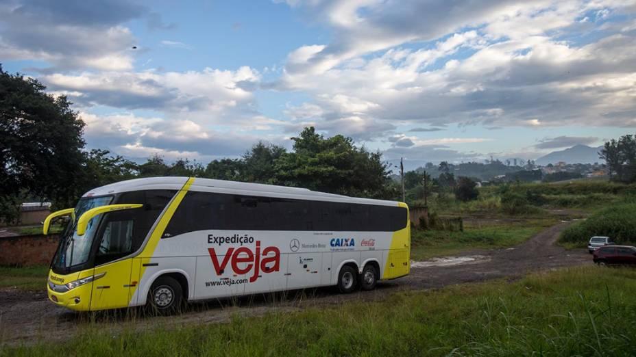 Expedição VEJA saindo de Resende rumo à Porto Real (RJ)