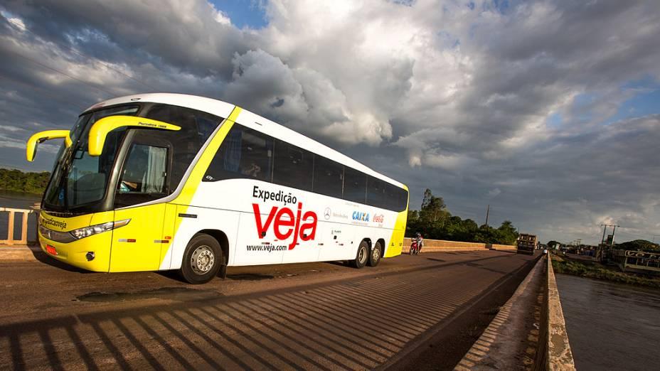 Expedição Veja rumo a cidade de Rondonópolis (MT)