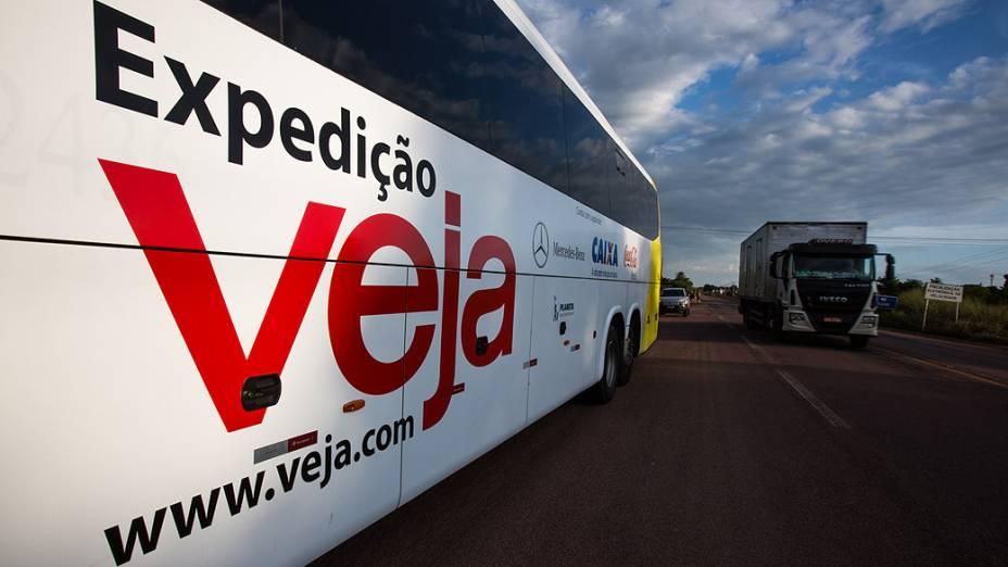 Expedição Veja chega na cidade de Rondonópolis (MT)