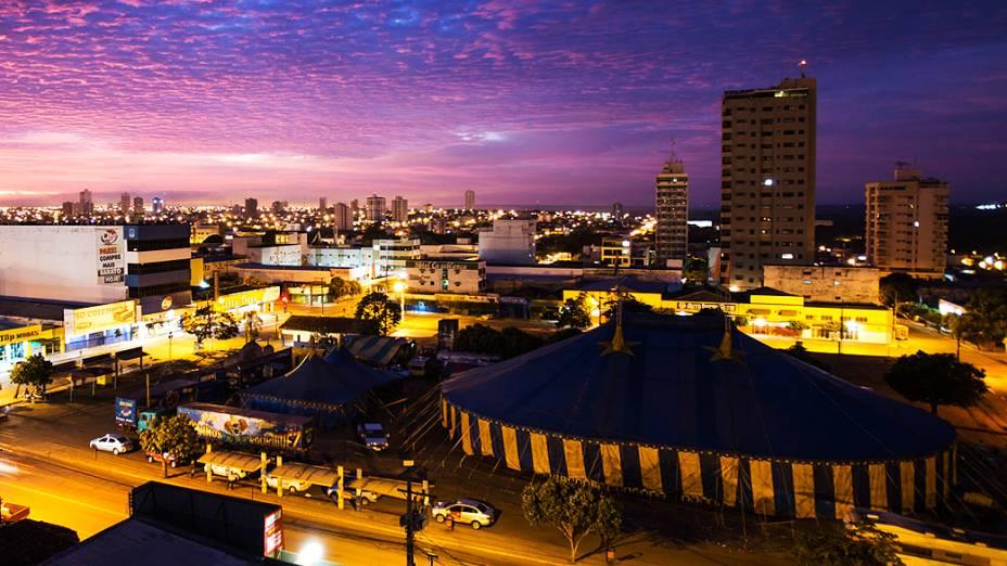 Expedição Veja. Na foto vista geral da cidade de Rondonópolis (MT)