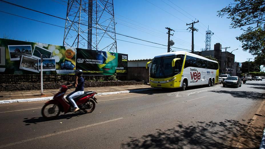 Expedição Veja chega na cidade de Sorriso (MT)