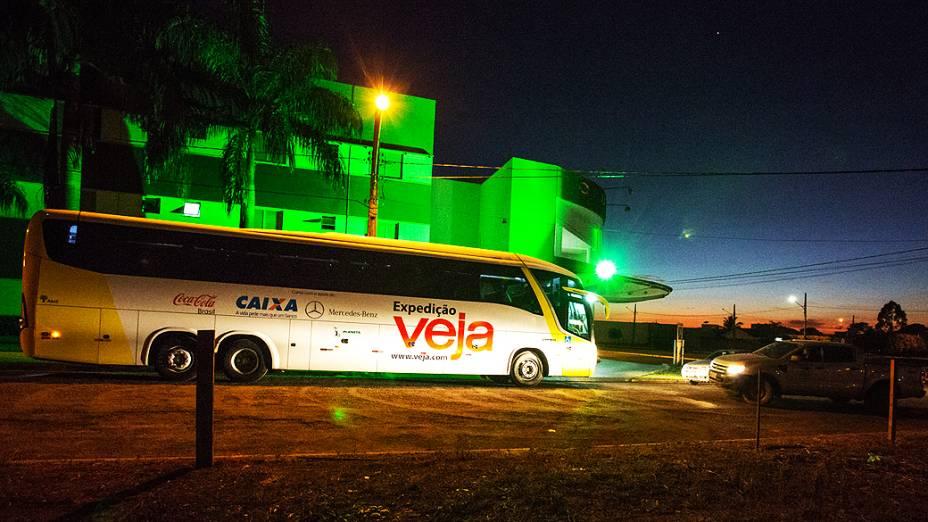 Expedição VEJA está seguindo rumo a Barra do Garça (MT)