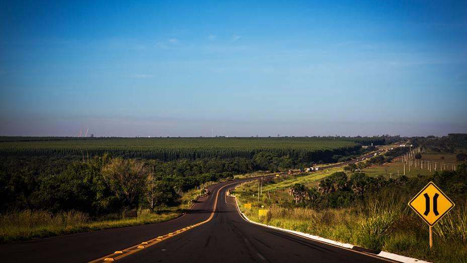 Expedição VEJA - Na foto, os arredores de Três Lagoas, Mato Grosso do Sul