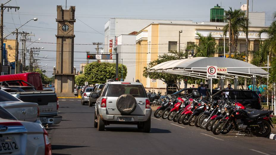 Expedição VEJA - Na foto, a da cidade de Três Lagoas, no Mato Grosso do Sul