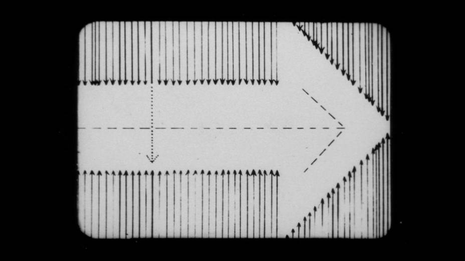 Frame da obra Der heroische Pfeil (Flecha Herioca) de Kurt Kranz