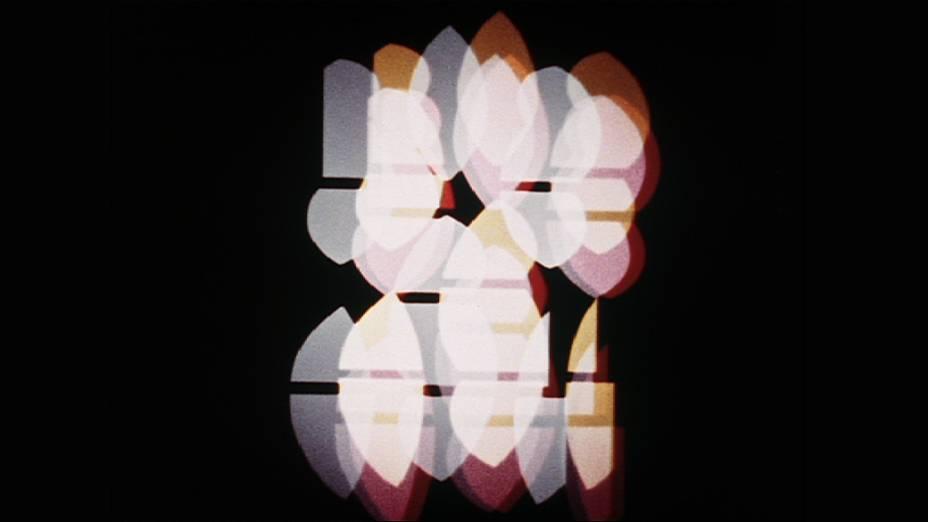 Frame da obra Reflektorische Farblichtspiele (Jogos Reflexivos de Luz Colorida), de Kurt Schwerdtfeger