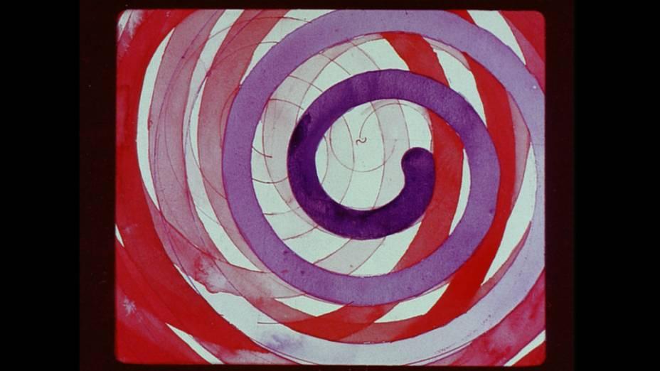Frame da obra Entwurf für einen Farbfilm (Leporello – Projeto para um Filme Colorido), de Kurt Kranz