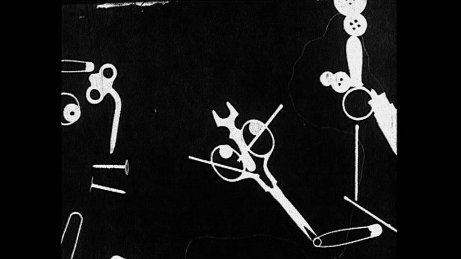 Reprodução do vídeo experimental, Näherin (Costureira) de Heinrich Brocksieper