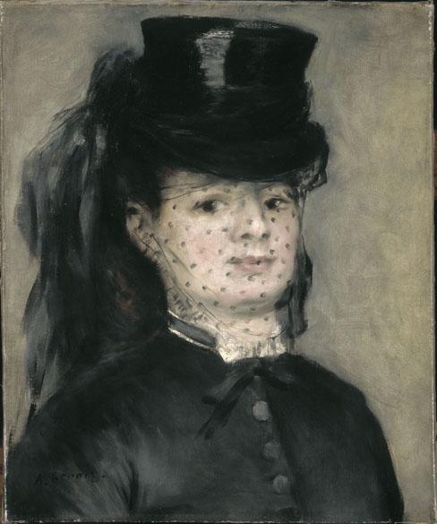 Obra Madame Darras do pintor impressionista Auguste Renoir