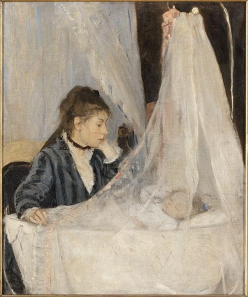 Obra Le berceau do pintor impressionista Berthe Morisot
